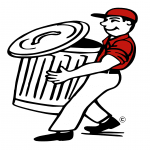 clipart of man with a can